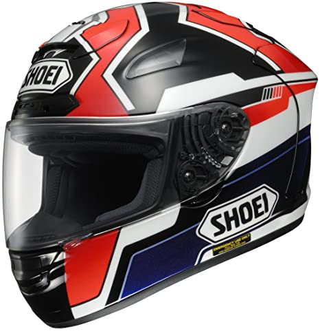 Amazon.com: Shoei Marquez x-twelve Street Racing – Casco de ...