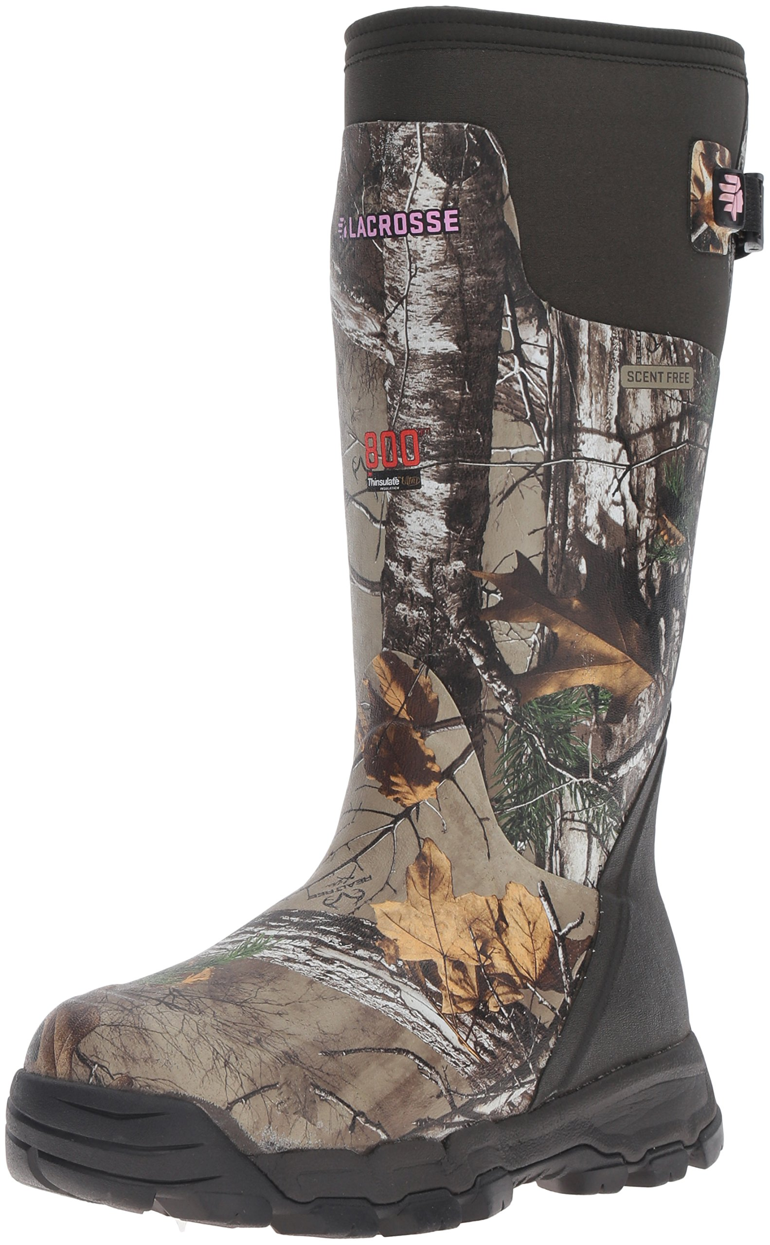 Lacrosse Women's Alphaburly Pro 800G Hunting Shoes, Realtree Xtra, 9 M US