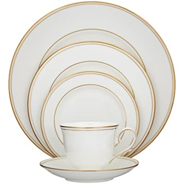 Lenox Federal Gold Bone China 5 Piece Place Setting