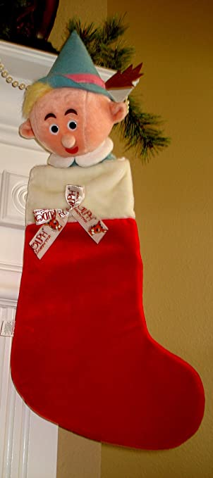 Amazon.com: Herbie The Dentist Large Plush Christmas Stocking From ...