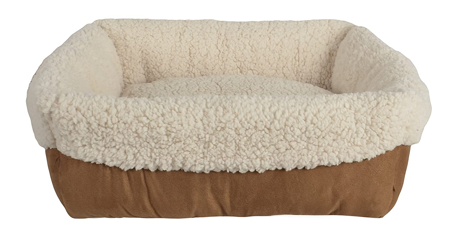 Pet Spaces Everyday Cuff Bed, 17 x 17 x 6