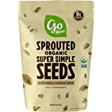 Go Raw Sprouted Pumpkin and Sunflower Seed Mix, 1 lb. Bag   Keto   Vegan   Gluten Free Snacks   Organic   Superfood…