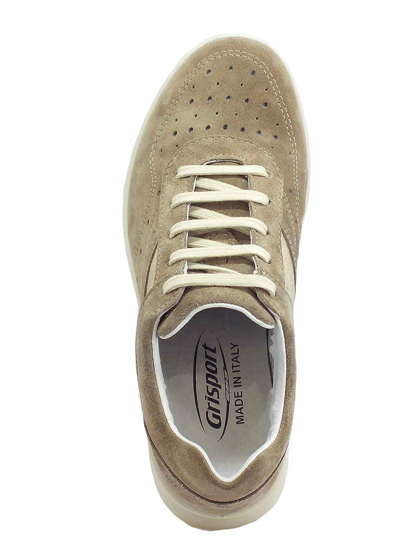 grigioport Active scarpe da ginnastica Donna in in in Scamosciato Vesuvio con Zeppa Media Fondo Antistatico 17e2d0