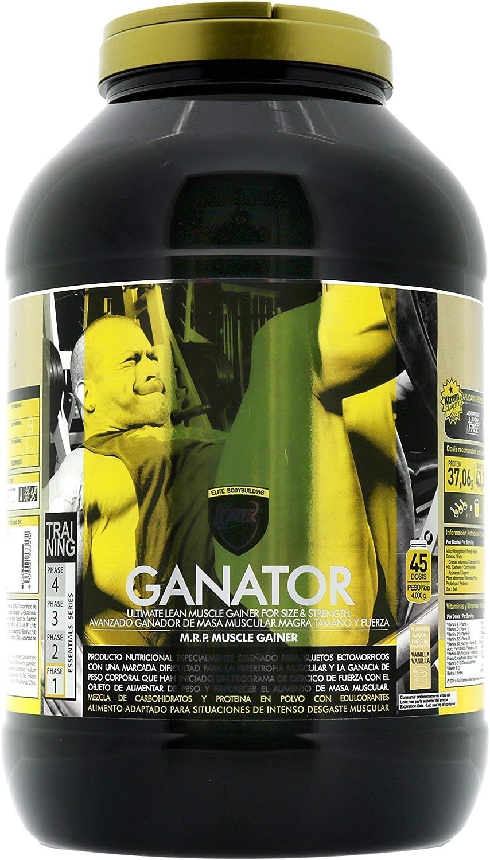 MTX nutrition IsoLeanGAINER Ganator [4 Kg.] Vainilla Suplemento PREMIUM proteínas de suero con carbohidratos avanzados, Ganancia de Peso Muscular