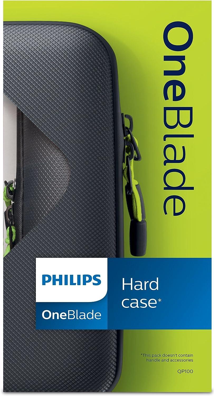 Philips QP100/50 - Funda rígida para el OneBlade y los accesorios ...