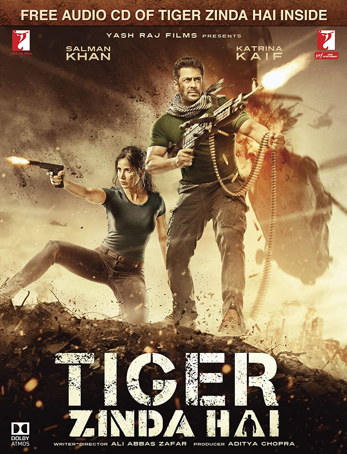 Tiger Zinda Hai Hindi BluRay(2017)