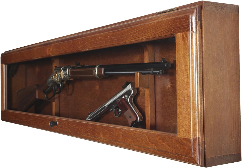 American Furniture Classics Horizontal Gun Display Cabinet 81ZNyS2Bh6yLSL1500_
