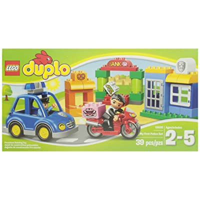 LEGO DUPLO Ville 10532 My First Police Set: Toys & Games