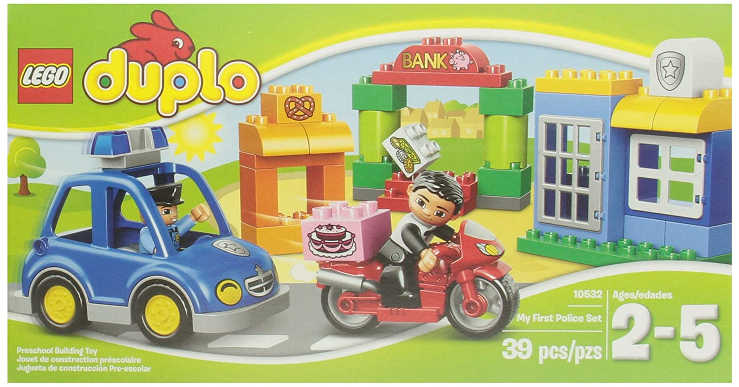 Lego Duplo Ville 10532 My First Police Set Toys Games
