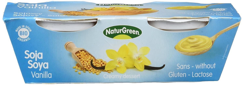 NATURGREEN SOJA BIO VAINILLA 2 x 125 gr: Amazon.es: Alimentación y bebidas