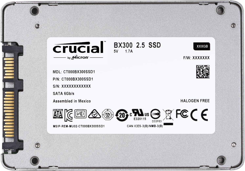 Crucial BX300 CT480BX300SSD1 - Disco Duro sólido Interno SSD de ...