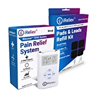 iReliev TOP-Best TENS Massager Unit Bundle for Pain Relief! The iReliev Bundle is...