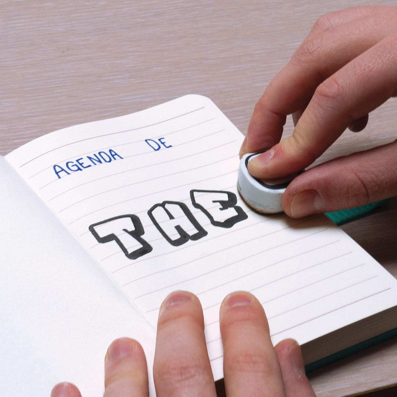 Amazon.com: Aladine Stampo diversión alfabeto sello y ...