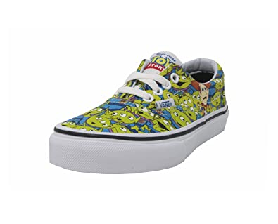 50aafeb332 Vans Era Kids Youth Boys Girls Shoes Disney Toy Story Aliens Fashion  Sneakers (