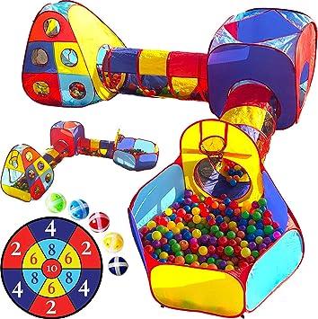 Amazon.com: Playz - Juego de 5 piezas de gimnasio para niños ...