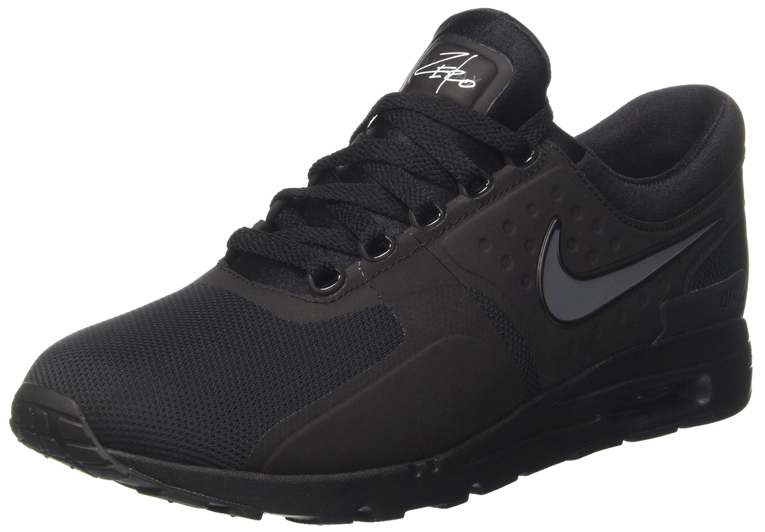 e63cd8537baa21 Galleon - NIKE Women s Air Max Zero Black Black Dark Grey White Running  Shoe 10 Women US