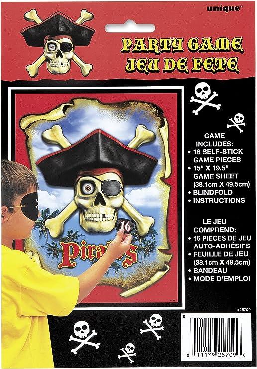 Unique Party Game - Juegos de Mesa con Piratas, 50 x 40 cm, 1 Unidad: Amazon.es: Juguetes y juegos