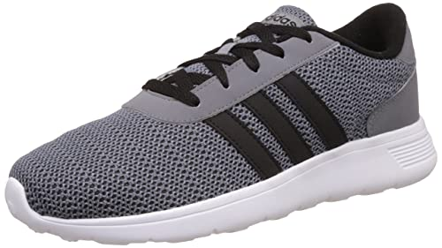 sale retailer aba73 10274 adidas neo Men s Lite Racer Grey, Cblack and Onix Running Shoes - 10 UK