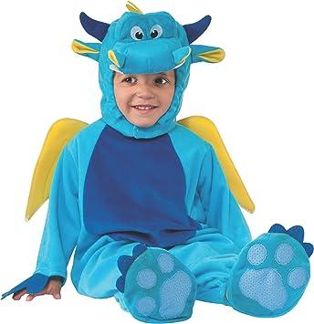 Rubies - Disfraz infantil de dragón para niño, bebé 1-2 años ...