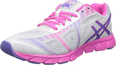 ASICS Women's Gel Havoc 2 Running Shoe,White/Lavendar/Pink,5 M