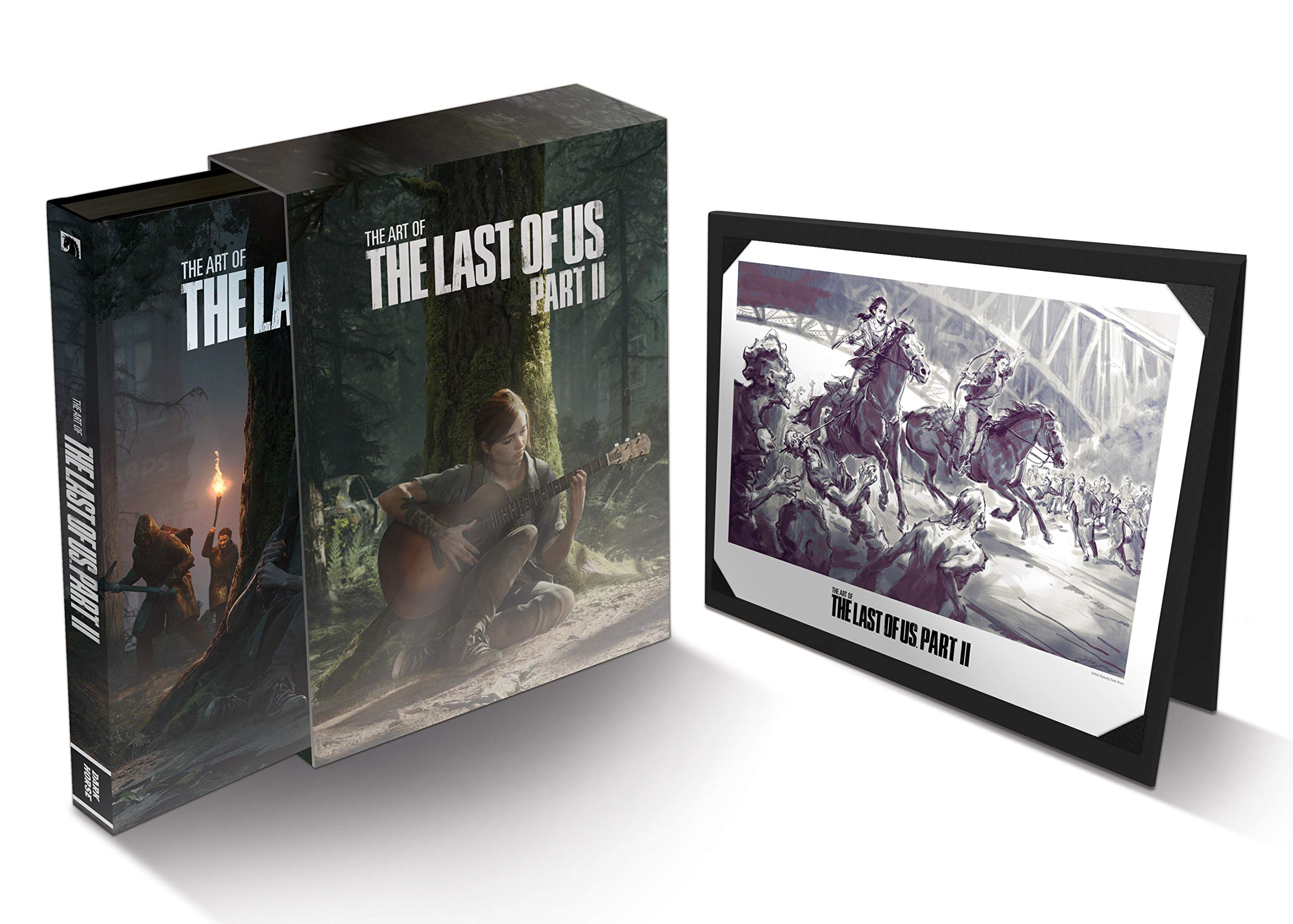 The Art Of The Last Of Us Part Ii Deluxe Edition 9781506716985 Naughty Dog Books