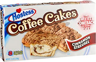 "product image for Hostess, ""The Sweetest Comeback in History"", Various Styles and Flavors, 8 Count, 11.6oz Box (Pack of 3) (Coffee Cakes)"