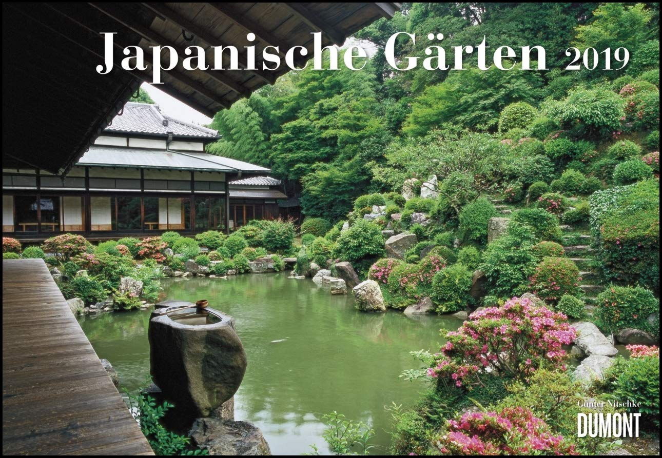 Japanische Gärten 2019 - Broschürenkalender - mit informativen ...