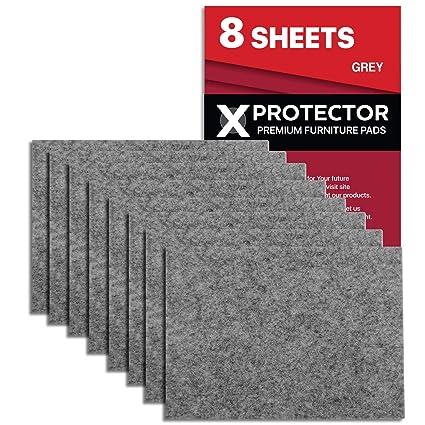 Fieltro adhesivo X-PROTECTOR - Deslizadores para muebles - 8 ...
