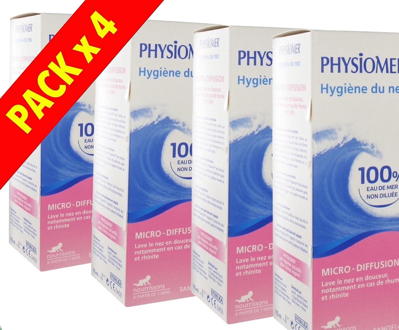 Physiomer Nasal Hygiene Baby Micro-Diffusion - PACK 4 x 115ml 271164