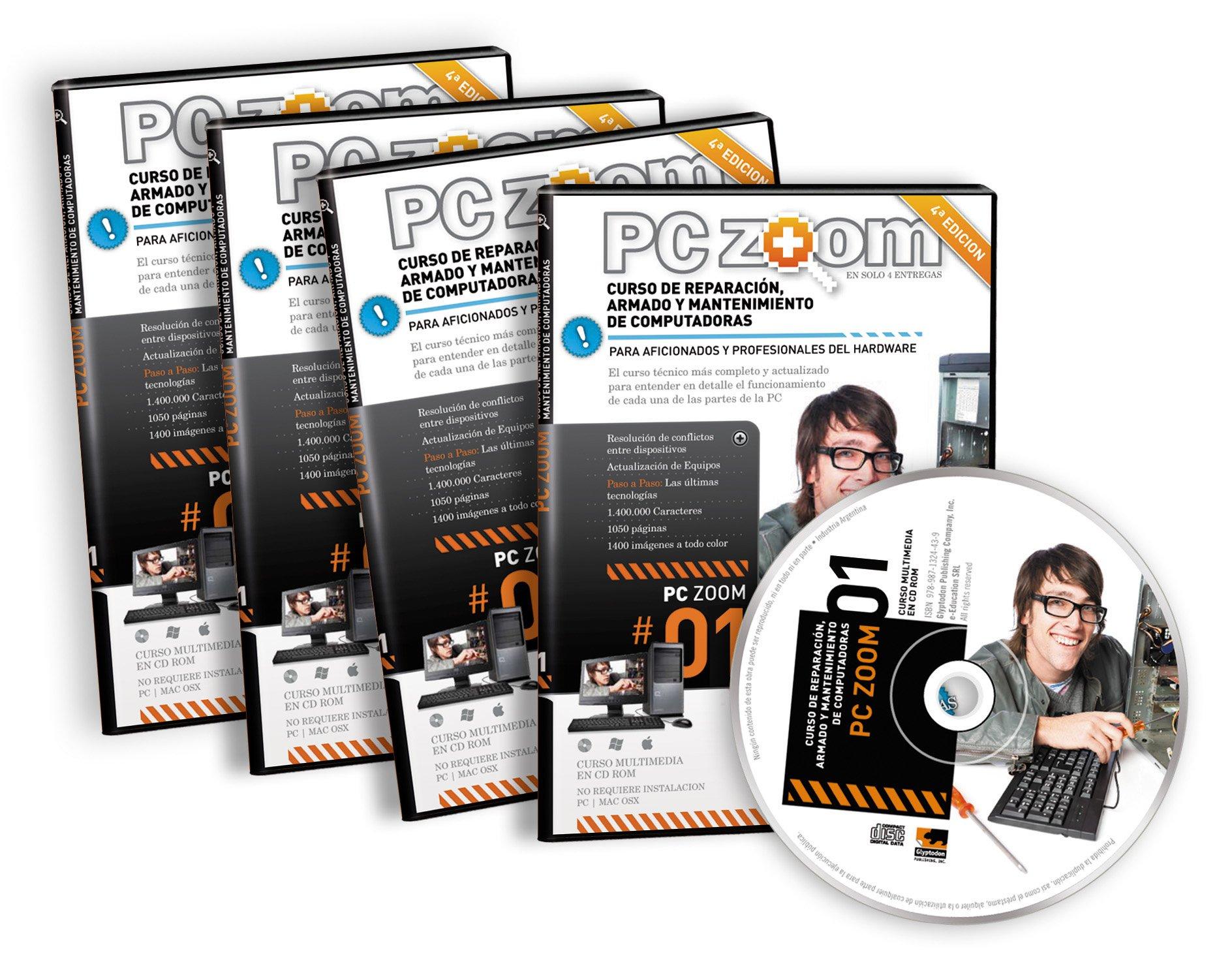 PC Zoom, Curso de Reparacion Armado y Mantenimiento de Computadoras, 2013 (Spanish Edition): Gaston Gonzales, Daniel Di Giacinti: 9789871324446: Amazon.com: ...