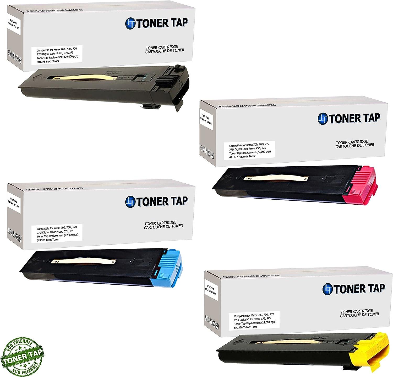 Black 700i Digital Color Press Toner Tap Compatible for Xerox 700