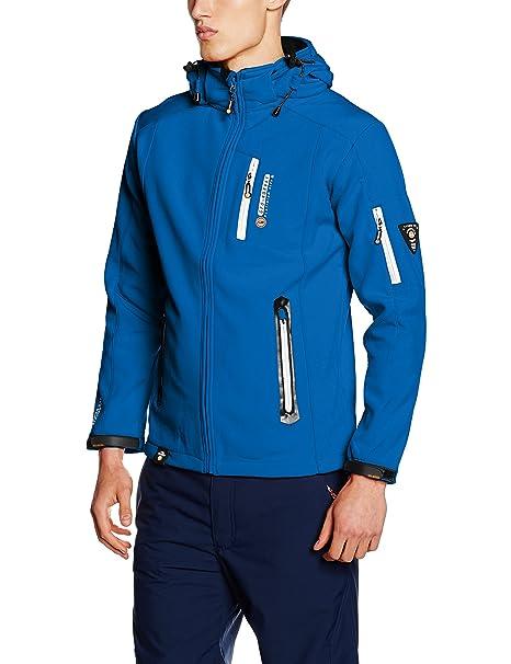 Telepherique Men, Chaqueta para Hombre, Azul (Blue), Large Geographical Norway