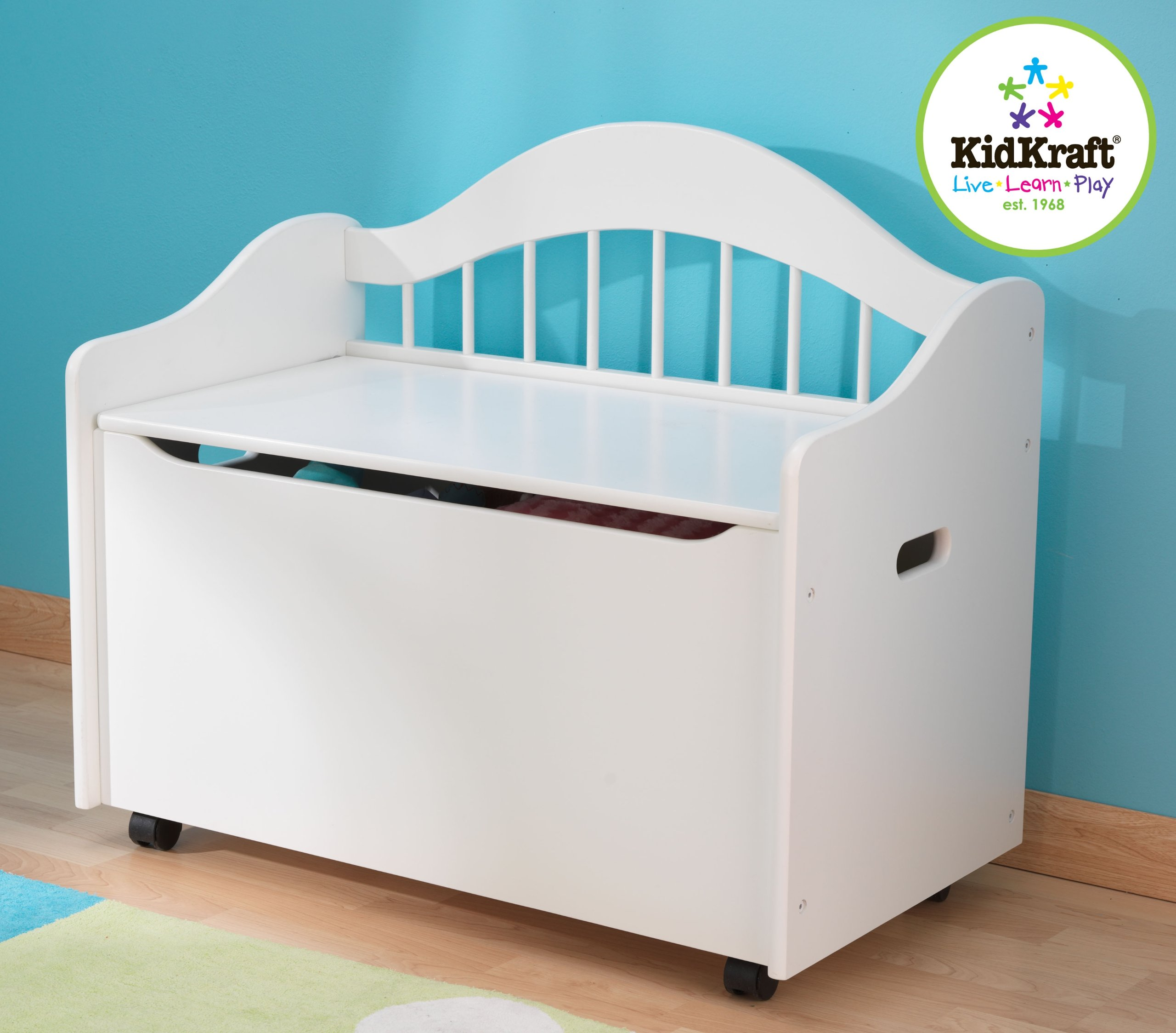 KidKraft® Limited Edition Toy Chest, WHITE