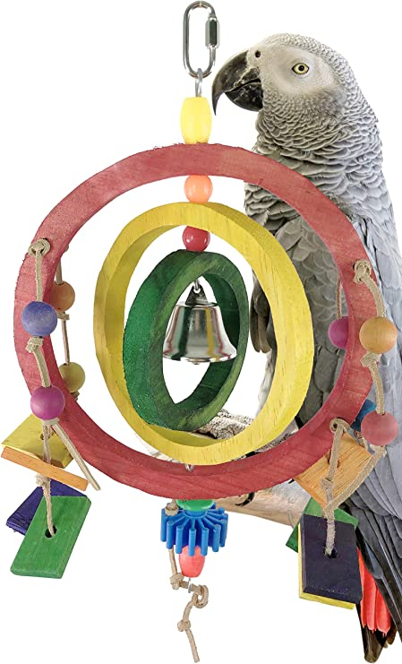 Parrot Toys and Bird Toy Parts by A Bird Toy Jumbo Pine Cone Preener