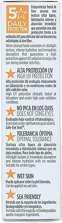 ISDIN Fusion Water - Fotoprotector Facial SPF 50, de Fase Acuosa para Uso Diario, Textura Ultra Ligera, 50 ml