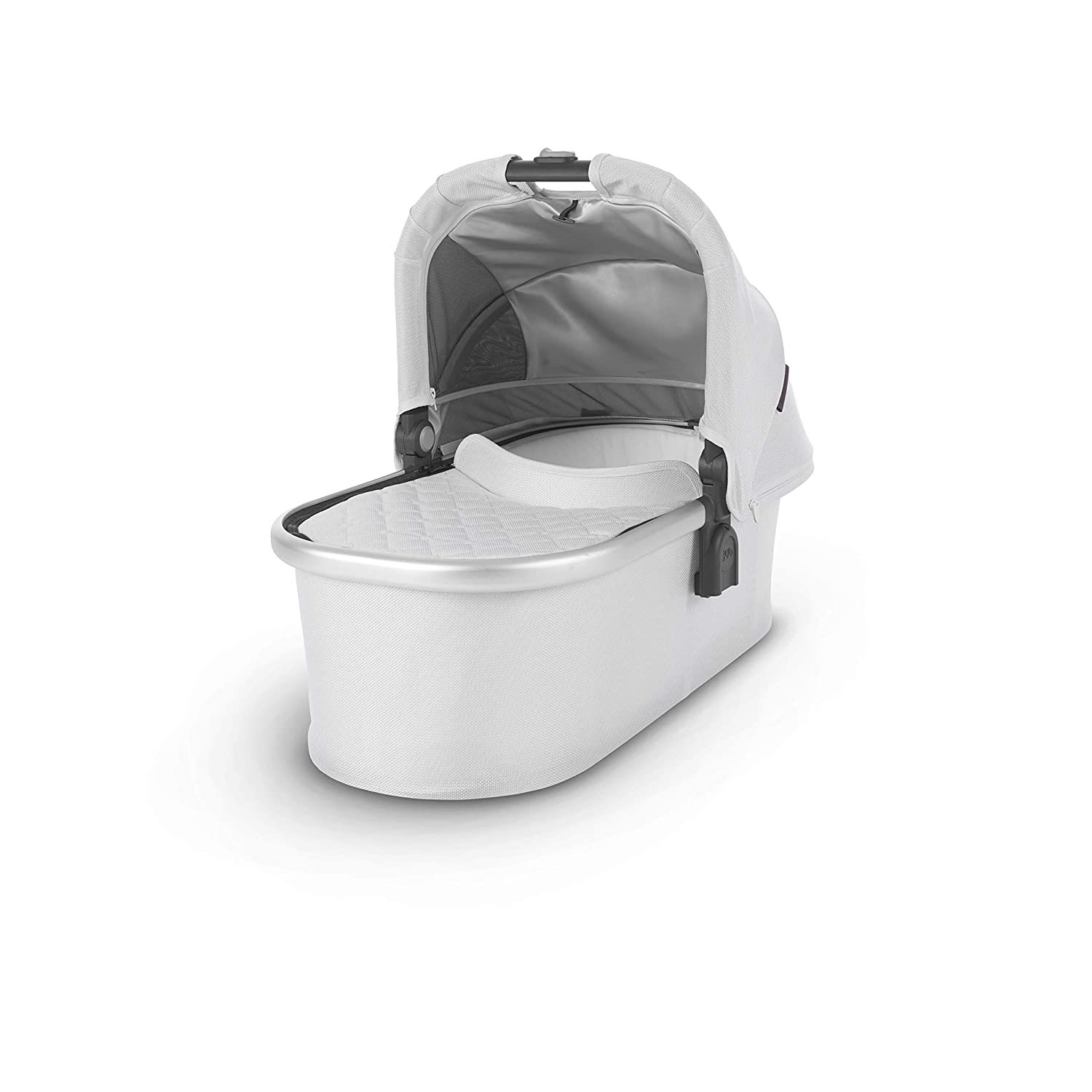 UPPAbaby Bassinet, Bryce White Marl Silver, Standard