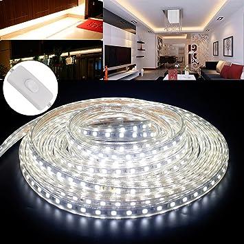 Ustellar Dimmbar 5m Led Streifen Set 300 Leds Lichtband Mit Netzteil