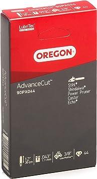 Oregon AdvanceCut 90PX Cha/îne de tron/çonneuse Oregon pour /équiper les Tron/çonneuses 30 cm Stihl 44 Maillons Entraineurs