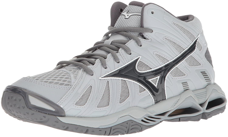 Mizuno Men's Wave Tornado X2 Mid Volleyball Shoe B07827TRV2 Men's 8 D US|Grey