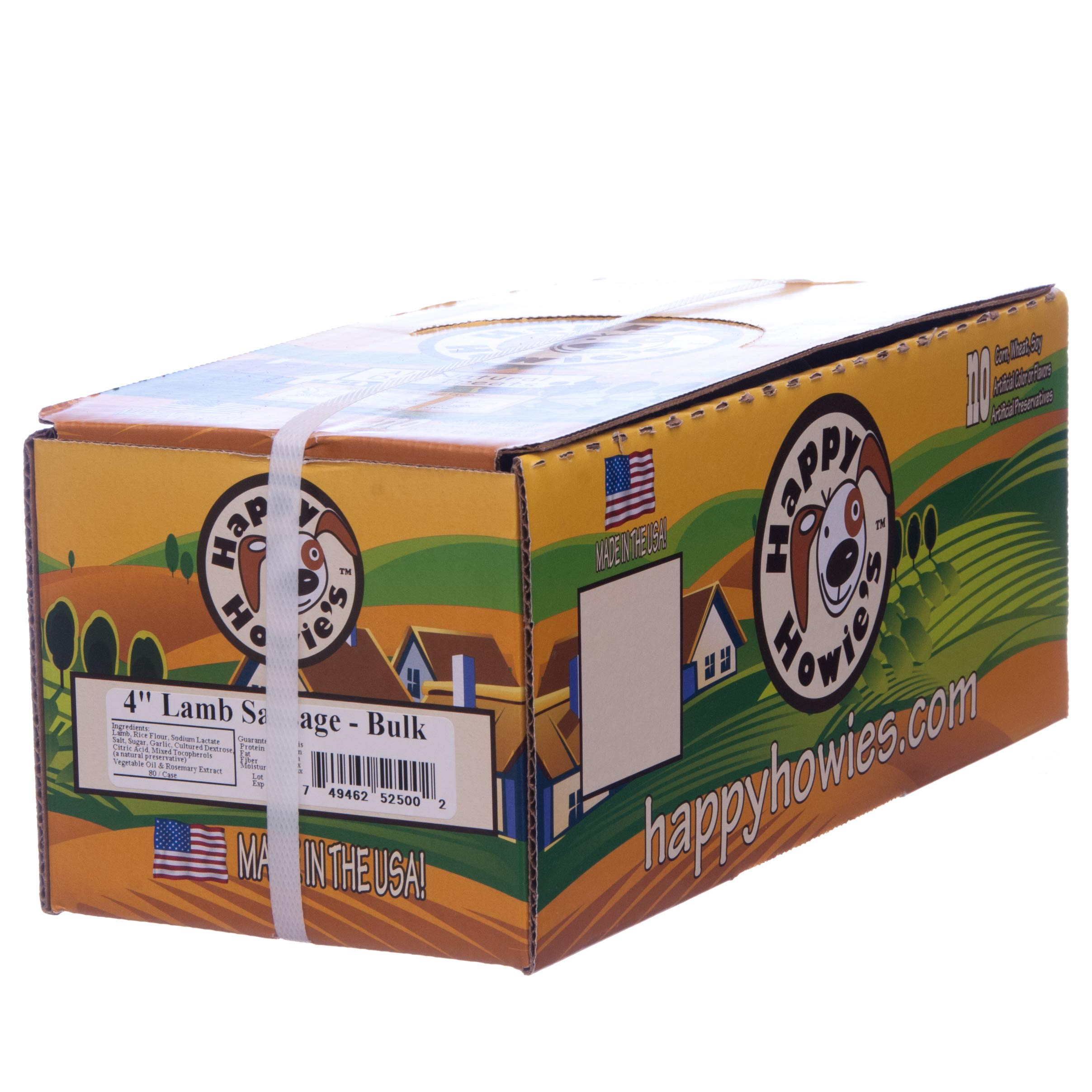 Happy Howie's Sausage Links (80 ct) (Lamb) by Happy Howie