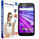 CELLBELL Premium Tempered Glass for Moto G3 3rd Gen