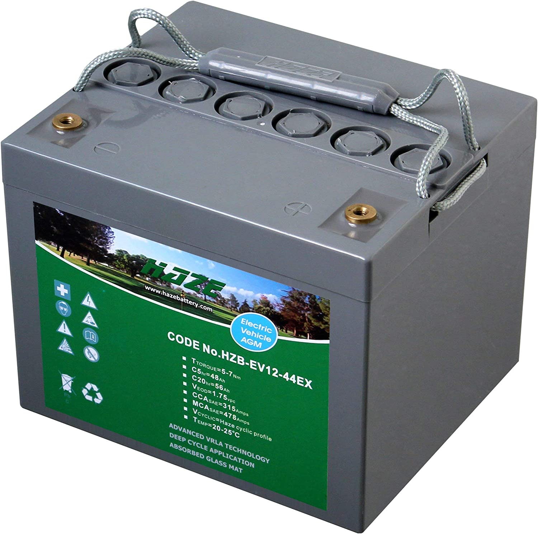 Mobility Scooter Battery AGM 12V 56Ah Haze High Output Sealed Lead Acid