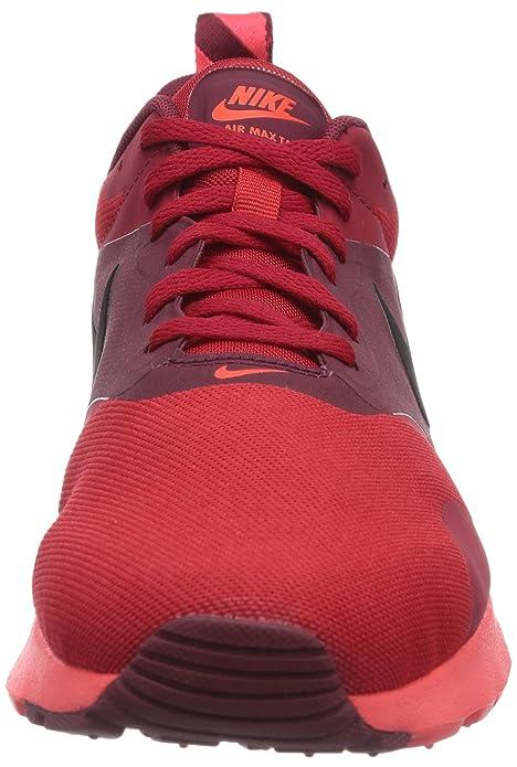 Nike Air Max Tavas, Herren Laufschuhe, Rot (Unvrsty RedBlk