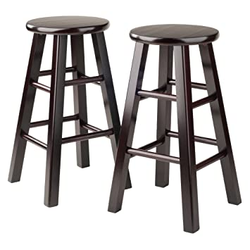 24 backless swivel counter stools height bar winsome stool square legs inch espresso set ikea