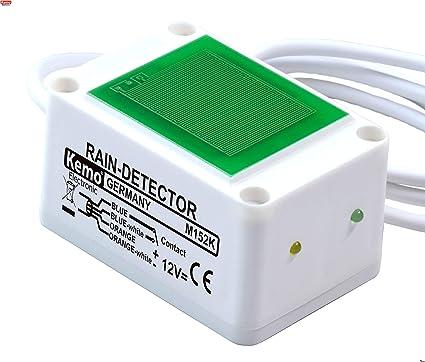 Kemo Lluvia Sensor m152 K capacitiva interruptor 12 V/DC Lluvia Detector de Sensor apaga
