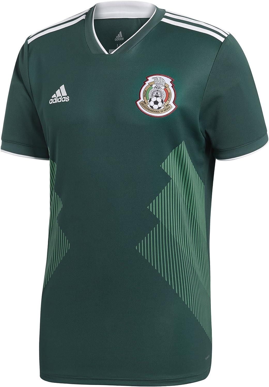 adidas México 2018 Home - Camiseta réplica: Amazon.es: Deportes y aire libre