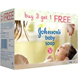 Johnson's Baby Soap, 150g Buy 3 get 1 FREE