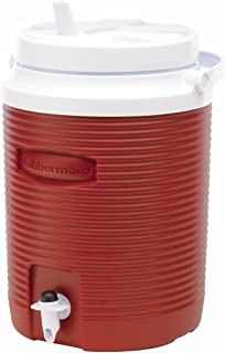 product image for Rubbermaid Victory Jug, 2 Gallon, Modern Red FG153004MODRD