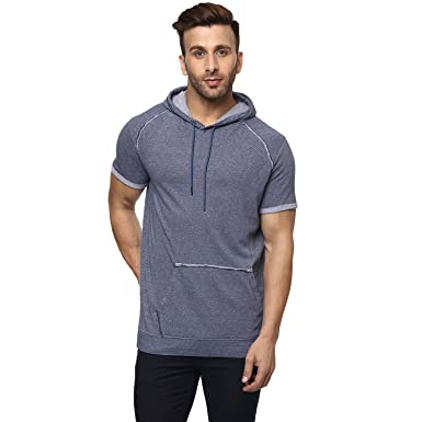 Half With Mufti Hoodie in Neck Sleeves T Round ShirtAmazon Plain Ybgf7y6