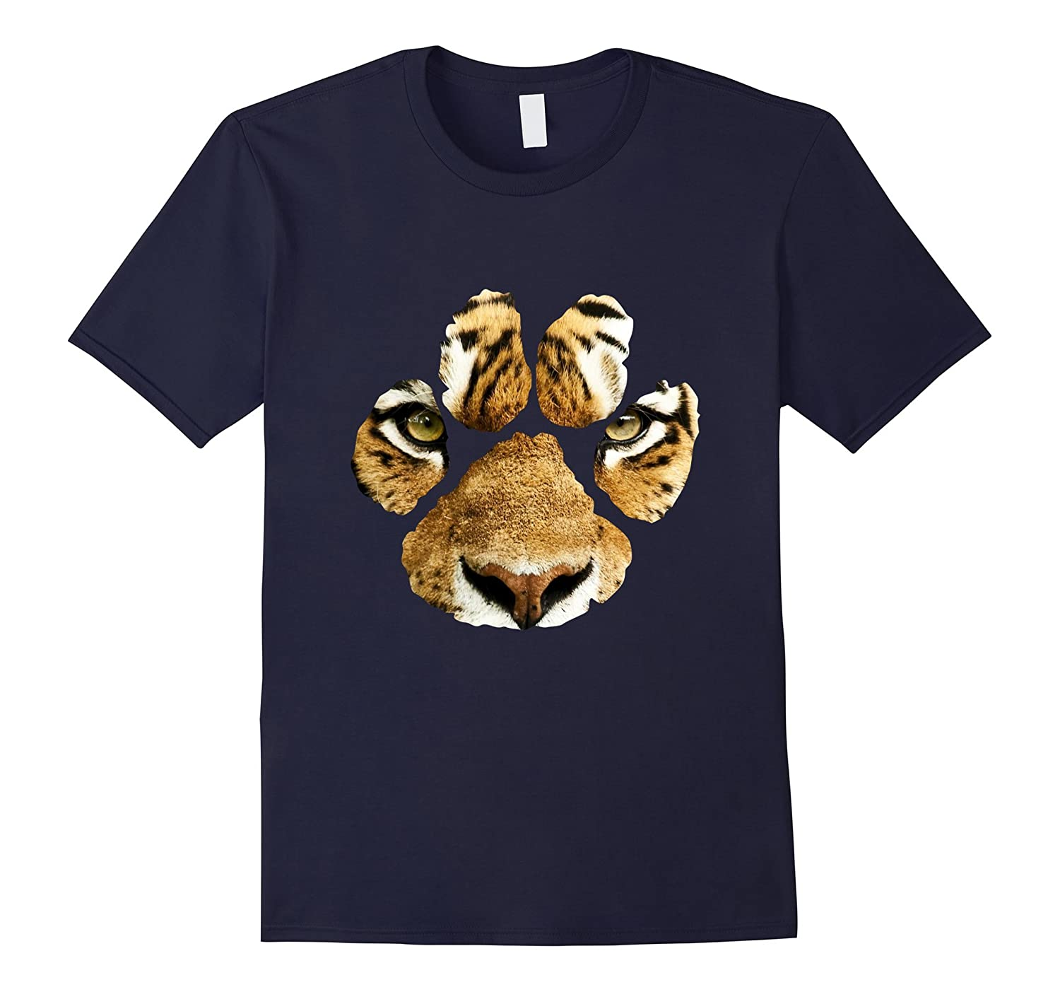 Awesome Tiger Paw Print T-Shirt - Mens & Womens & Kids-FL